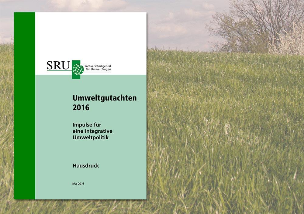 Deckblatt des SRU-Umweltgutachten 2016