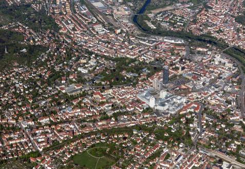 Luftbild Jena