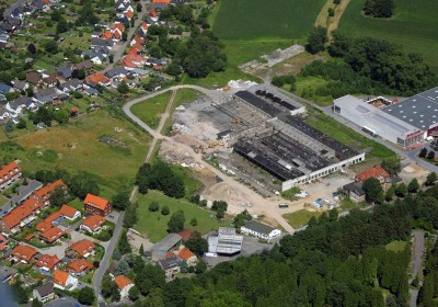 Vom Industriestandort zum Wohngebiet: ehemalige Metall- und Fahrradfabrik Union in Werl, Kreis Soest